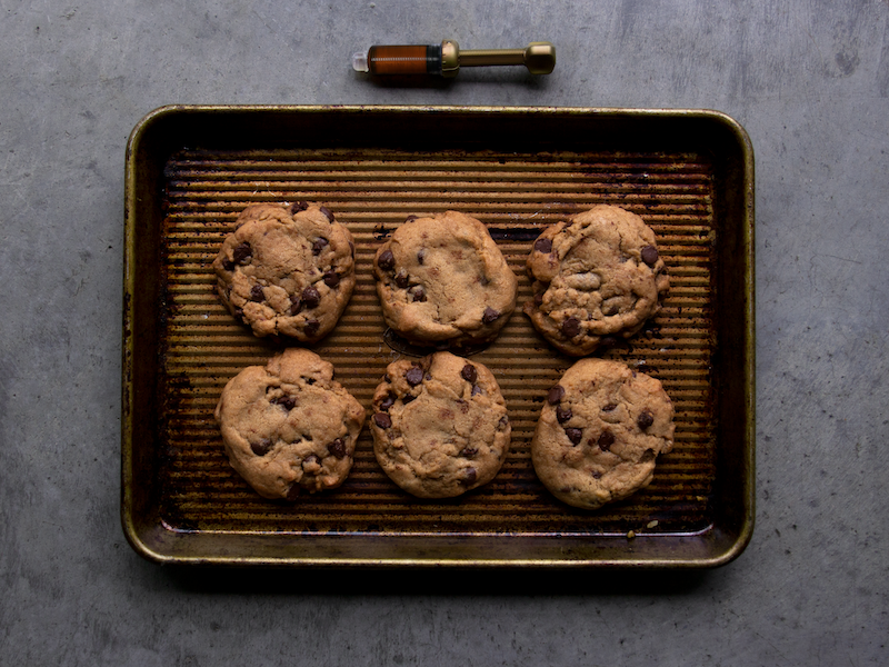 Classic Couchlock Chocolate Chip Cookies